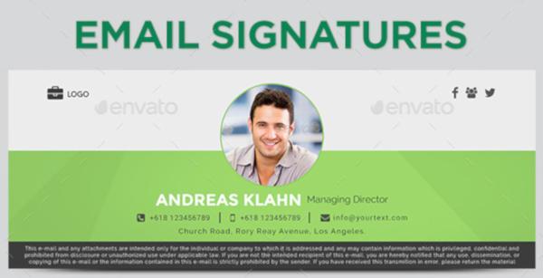 Elegant Email Signature Template