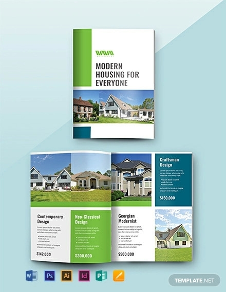 free real estate catalog template