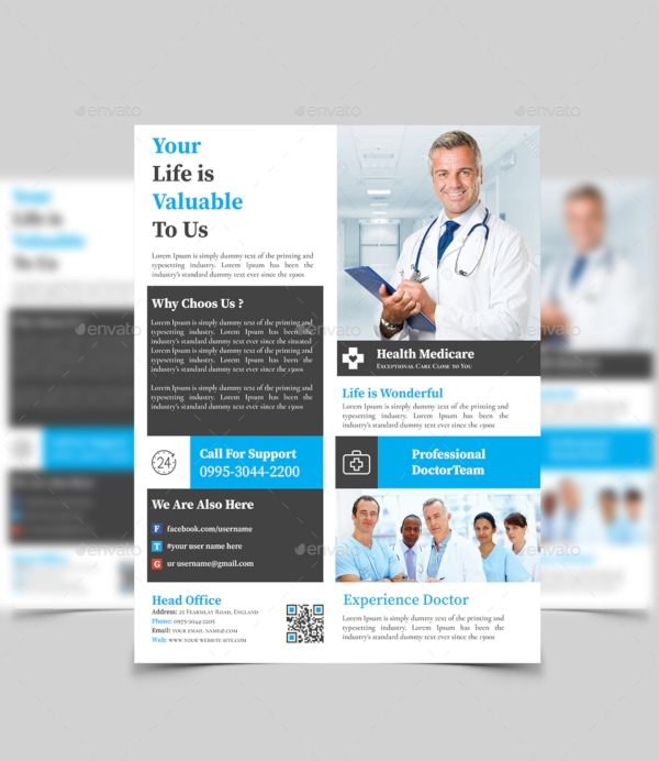 Health Care Flyer Design