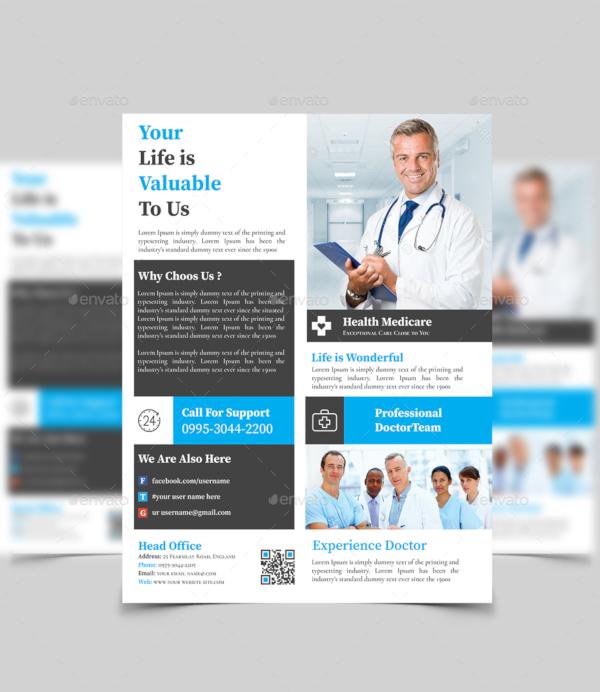 Health Care Flyer Design