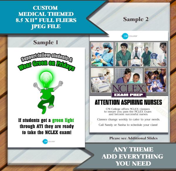 Medical Student Flyer