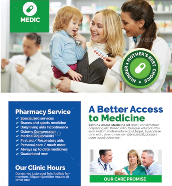 Pharmacy and Medical Clinic Flyer