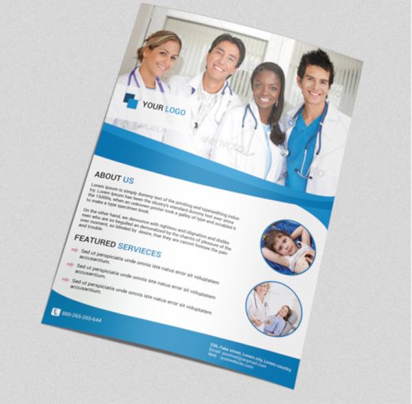 Printable Medial Flyer Design