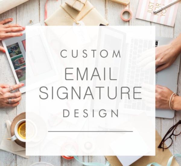 Simple Email Signature Design