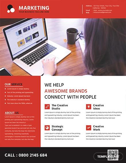 free marketing flyer