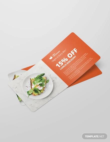 lunch discount voucher